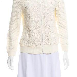 🥰NWOT-Tory Burch Crocheted 🧶 Sweater